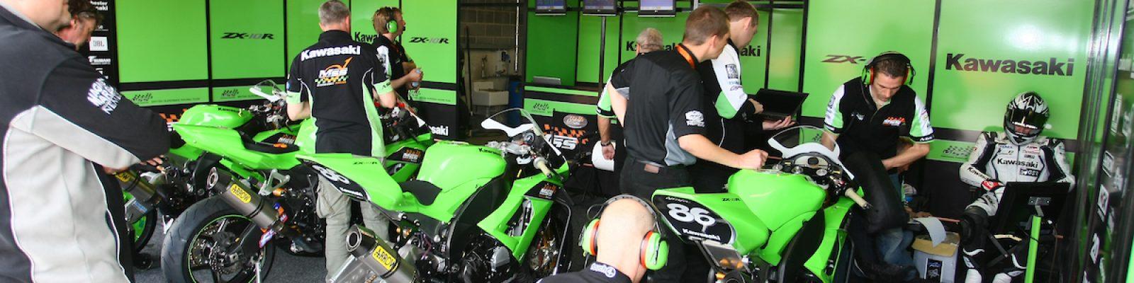 MSS Colchester Kawasaki Garage Shot